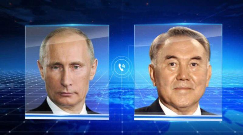 Нұрсұлтан Назарбаев Ресей Президенті Владимир Путинмен телефон арқылы сөйлесті