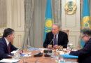 Мемлекет басшысы білім және ғылым министрі Ерлан Сағадиевпен кездесті