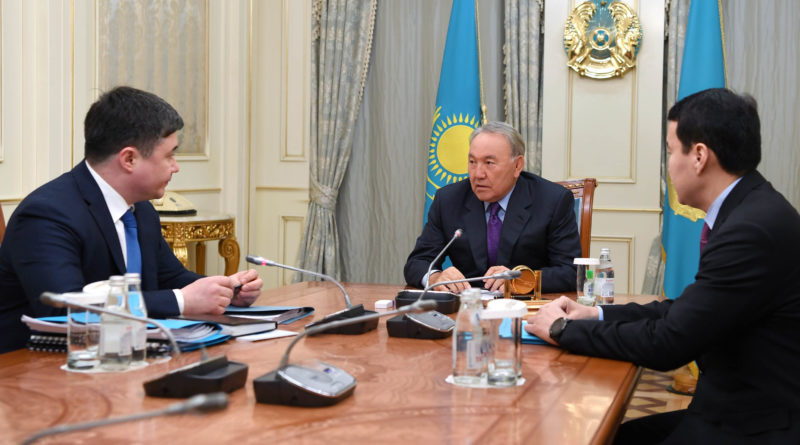Елбасы Ұлттық экономика министрі Тимур Сүлейменовті қабылдады