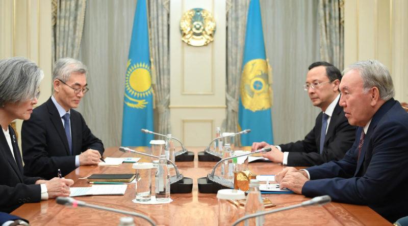 Мемлекет басшысы Корея Республикасының Сыртқы істер министрі Кан Гён Хвамен кездесті