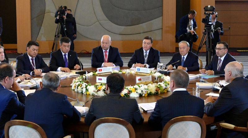 Мемлекет басшысы Жоғары Еуразиялық экономикалық кеңестің отырысына қатысты