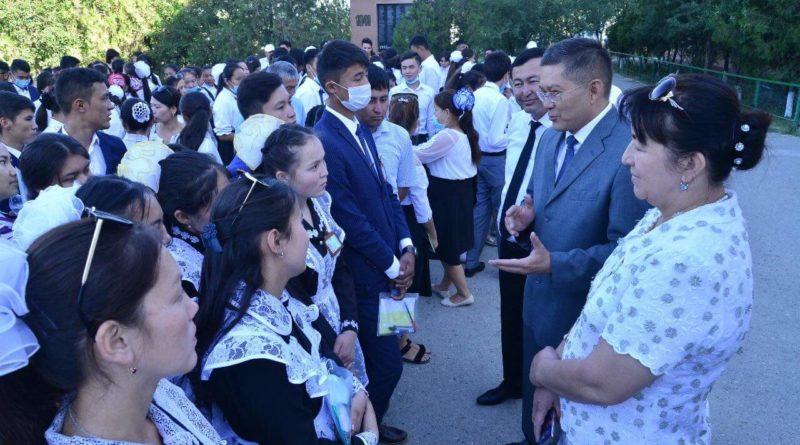 Отырарда 53 оқушы «Алтын белгі» иегері атанды
