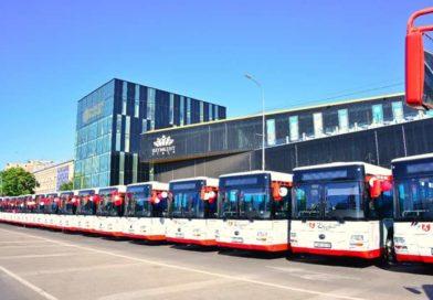Шымкентке жаңа автобустар əкелінді