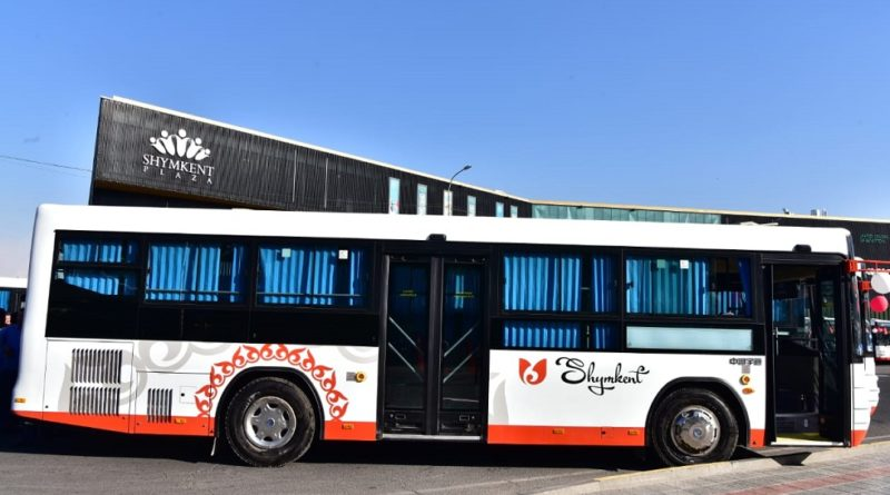 Жаңа автобустар өз жұмысын бастады