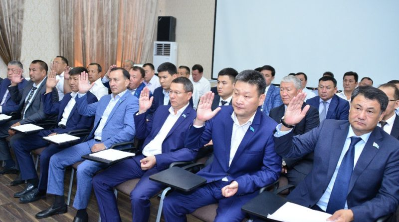 Әл-Фараби және Қаратау аудандарының әкімдері тағайындалды