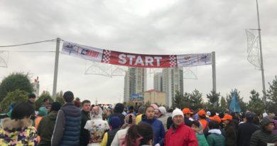Шымкентте марафон өтті